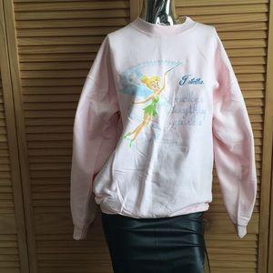 NWOT Disney store Tinkle Bell Sweatshirt